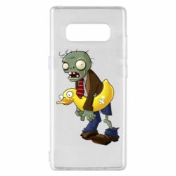 Чехол для Samsung Note 8 Zombie with a duck