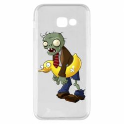 Чехол для Samsung A5 2017 Zombie with a duck