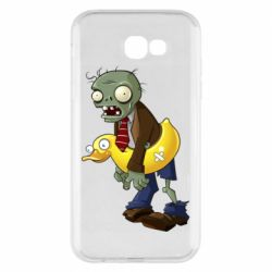 Чехол для Samsung A7 2017 Zombie with a duck