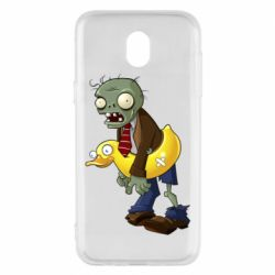 Чехол для Samsung J5 2017 Zombie with a duck