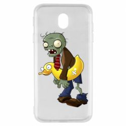 Чехол для Samsung J7 2017 Zombie with a duck