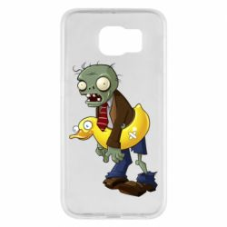 Чехол для Samsung S6 Zombie with a duck