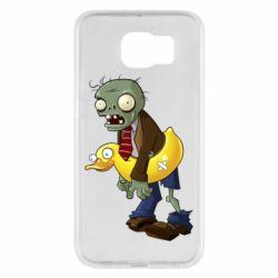 Чохол для Samsung S6 Zombie with a duck
