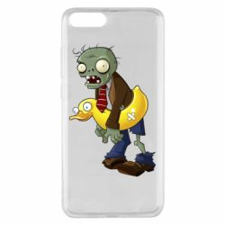 Чехол для Xiaomi Mi Note 3 Zombie with a duck