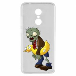 Чехол для Xiaomi Redmi 5 Zombie with a duck