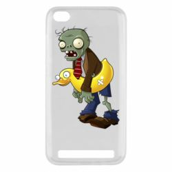 Чехол для Xiaomi Redmi 5A Zombie with a duck