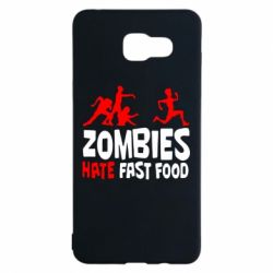 Чохол для Samsung A5 2016 Zombies hate fast food
