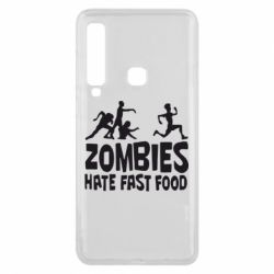 Чохол для Samsung A9 2018 Zombies hate fast food