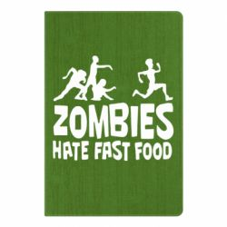 Блокнот А5 Zombies hate fast food