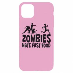Чохол для iPhone 11 Pro Max Zombies hate fast food