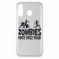 Чохол для Samsung M30 Zombies hate fast food
