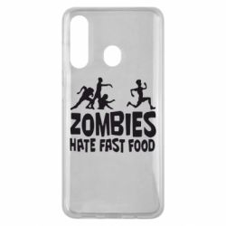 Чохол для Samsung M40 Zombies hate fast food