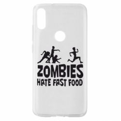 Чохол для Xiaomi Mi Play Zombies hate fast food