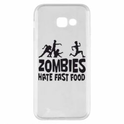 Чохол для Samsung A5 2017 Zombies hate fast food
