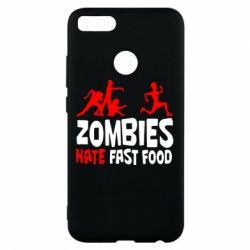 Чохол для Xiaomi Mi A1 Zombies hate fast food