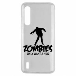 Чехол для Xiaomi Mi9 Lite Zombies only want a hug