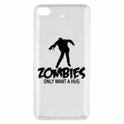 Чехол для Xiaomi Mi 5s Zombies only want a hug