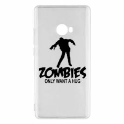 Чехол для Xiaomi Mi Note 2 Zombies only want a hug