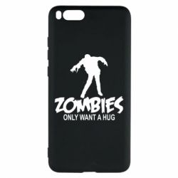 Чехол для Xiaomi Mi Note 3 Zombies only want a hug