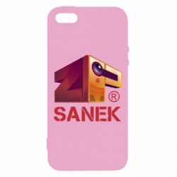 Чехол для iPhone5/5S/SE ZPSanek Logo - FatLine