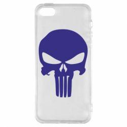 Чохол для iphone 5/5S/SE Зубастий череп