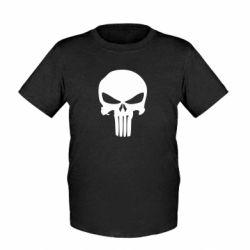 Детская футболка Зубастый череп - FatLine