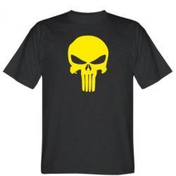 Мужская футболка Зубастый череп - FatLine