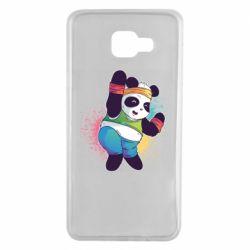 Чохол для Samsung A7 2016 Zumba Panda
