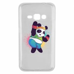Чохол для Samsung J1 2016 Zumba Panda