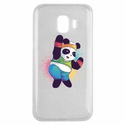 Чохол для Samsung J2 2018 Zumba Panda