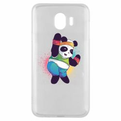Чохол для Samsung J4 Zumba Panda
