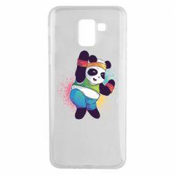 Чохол для Samsung J6 Zumba Panda