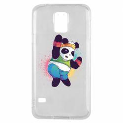 Чохол для Samsung S5 Zumba Panda
