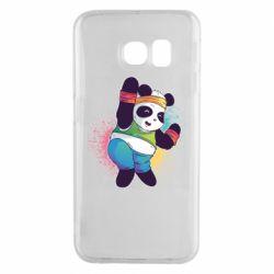 Чохол для Samsung S6 EDGE Zumba Panda