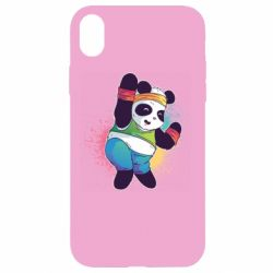 Чохол для iPhone XR Zumba Panda