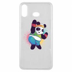 Чохол для Samsung A6s Zumba Panda