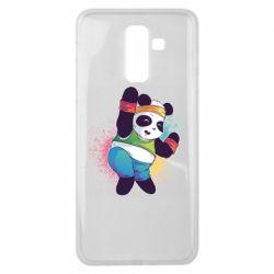 Чохол для Samsung J8 2018 Zumba Panda