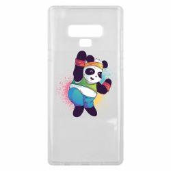 Чохол для Samsung Note 9 Zumba Panda