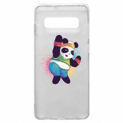 Чохол для Samsung S10+ Zumba Panda