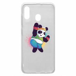 Чохол для Samsung A20 Zumba Panda
