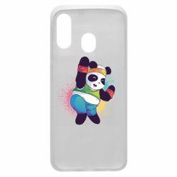Чохол для Samsung A40 Zumba Panda