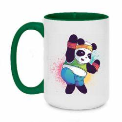 Кружка двоколірна 420ml Zumba Panda