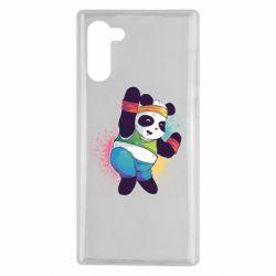Чохол для Samsung Note 10 Zumba Panda