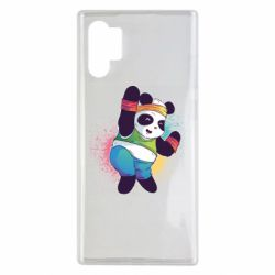 Чохол для Samsung Note 10 Plus Zumba Panda