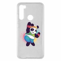 Чохол для Xiaomi Redmi Note 8 Zumba Panda