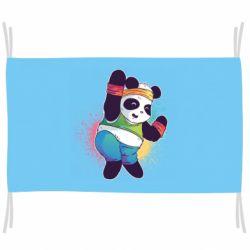 Прапор Zumba Panda