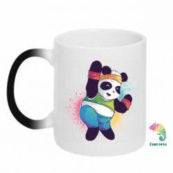 Кружка-хамелеон Zumba Panda