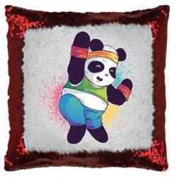 Подушка-хамелеон Zumba Panda