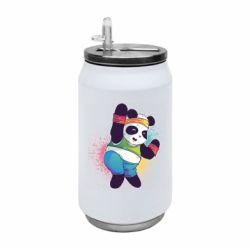 Термобанка 350ml Zumba Panda