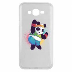 Чохол для Samsung J7 2015 Zumba Panda
